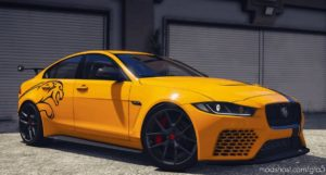 2018 Jaguar XE SV Project 8 V2.0 for Grand Theft Auto V