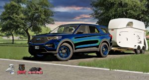 2020 Ford Explorer V1.1 for Farming Simulator 19