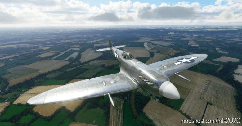 Supermarine Spitfire Mk.ix Usaaf 9TH TAC EP-A for Microsoft Flight Simulator 2020