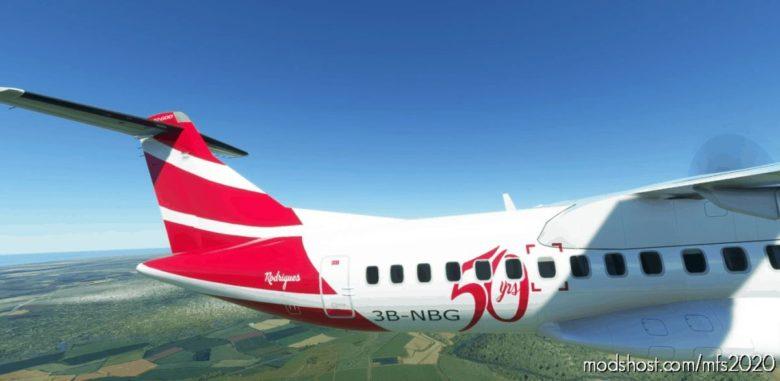 "AIR Mauritius ""50 Years"" ATR 72-600 8K for Microsoft Flight Simulator 2020"