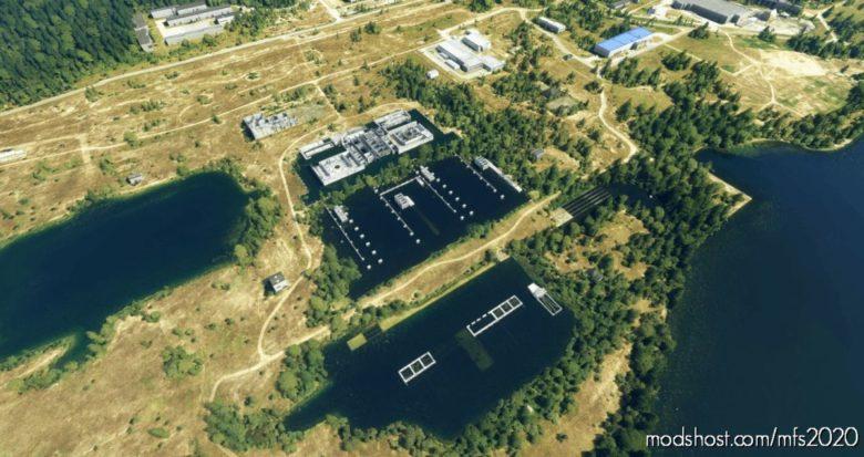 Zarnowiec Nuclear Power Plant for Microsoft Flight Simulator 2020