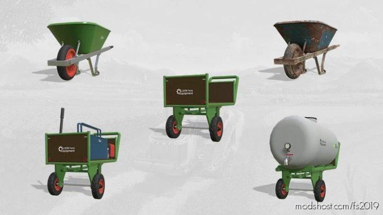 Lsfm Farm Equipment Pack V1.0.0.1 for Farming Simulator 19
