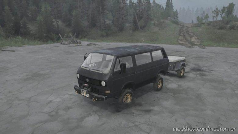 Volkswagen Transporter T3 V03.04.21 for MudRunner