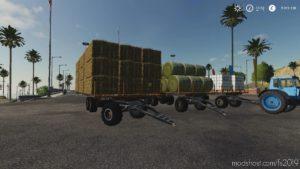 3PTS 12 Platform With Autoload V2.0 for Farming Simulator 19