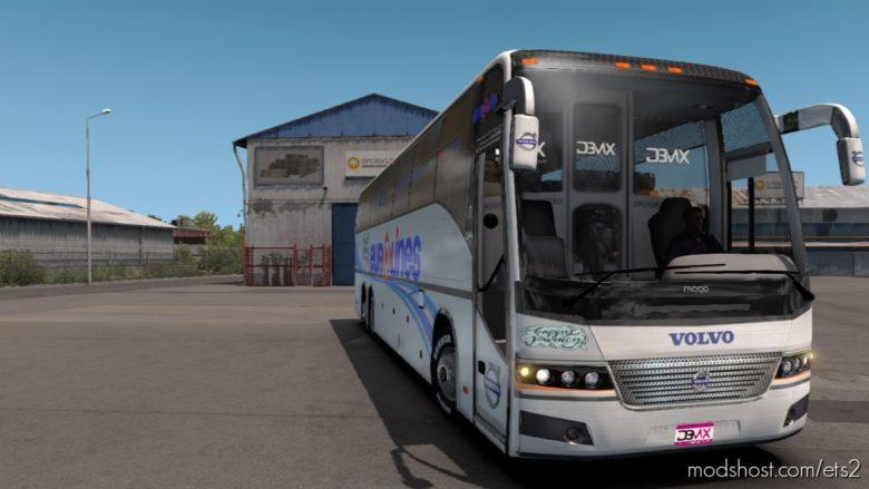 Volvo 9700 Euro Lines NEW 2021 [1.39 – 1.40] for Euro Truck Simulator 2
