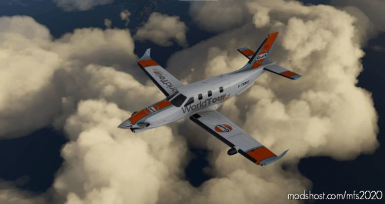 TBM930 – Gulf   Worldtour 2021 V1.2 for Microsoft Flight Simulator 2020