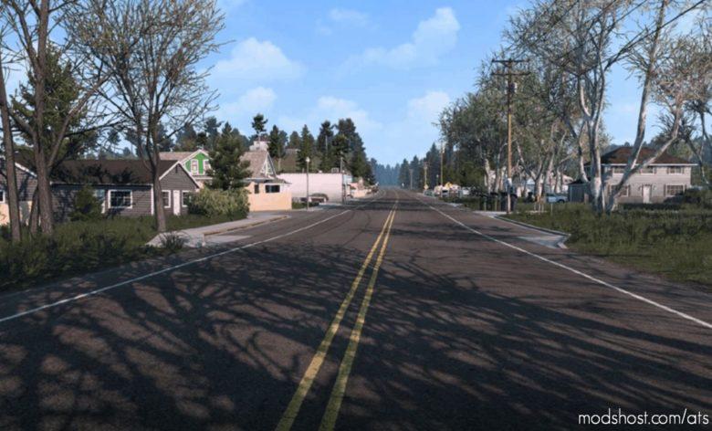 Late Autumn / Mild Winter V3.0 for American Truck Simulator
