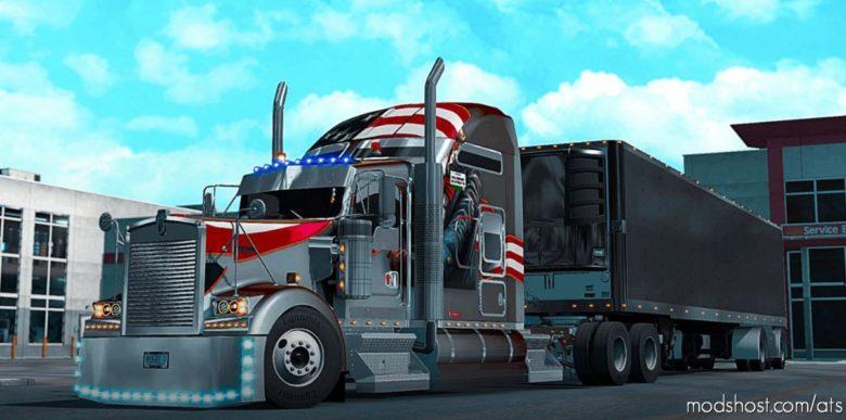 The King Of L.A. Workshop Mod SCS Kenworth V1.5 Edited [1.39] for American Truck Simulator
