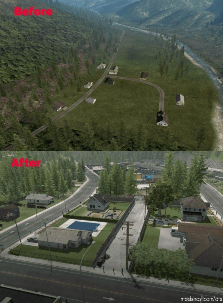 SCS Map Improvements V1.1.260 [1.40] for American Truck Simulator
