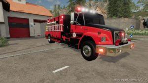 Amerykański Samochód Strażacki V3.0 for Farming Simulator 19
