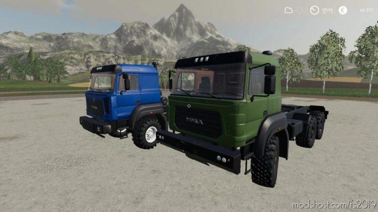Ural-6370K Tiagath for Farming Simulator 19