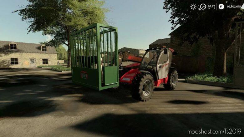 Transport Cage for Farming Simulator 19