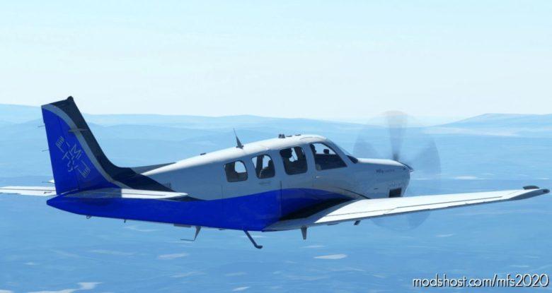 Bonanza G36 Mi-Fly Alpha Livery [4K] V1.0.1 for Microsoft Flight Simulator 2020