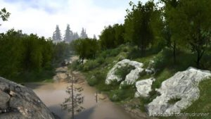 China Island Map V1.01 for MudRunner