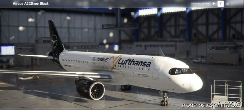 [A32NX] A320Neo Lufthansa Love Airbus [Imagenative] 8K for Microsoft Flight Simulator 2020