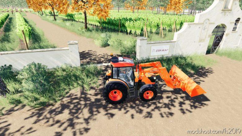 Kubota M4072 for Farming Simulator 19