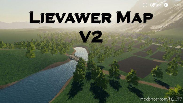 Lievawer Map V2.5 for Farming Simulator 19