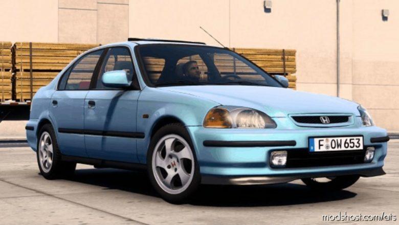 Honda Civic IES V8.0 [1.40] for American Truck Simulator
