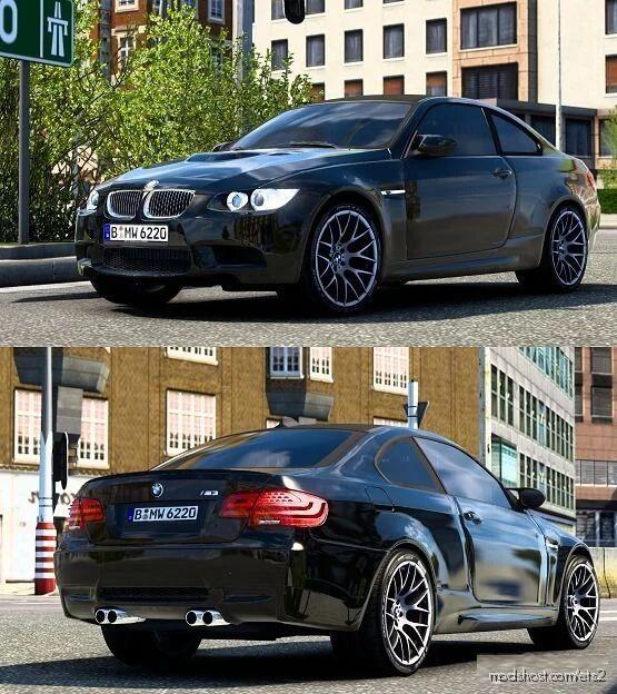 BMW M3 E92 V2 [1.40] for Euro Truck Simulator 2