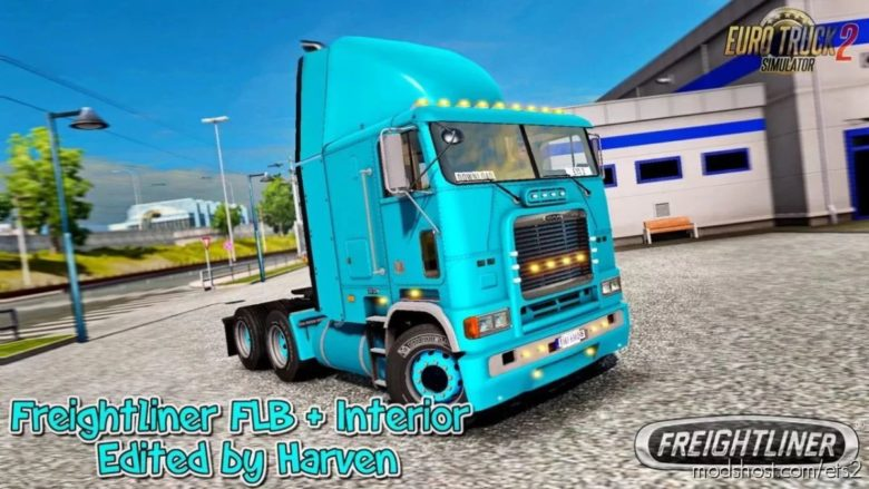 Freightliner FLB V2.0.10 Edit By Harven [1.40.X] for Euro Truck Simulator 2