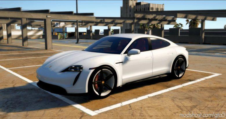 Porsche Taycan Turbo S for Grand Theft Auto V