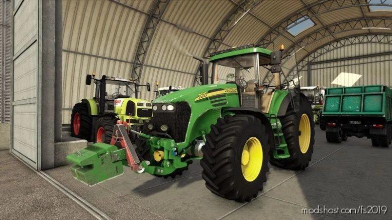 John Deere 7020 Edit Teor V2.0 for Farming Simulator 19