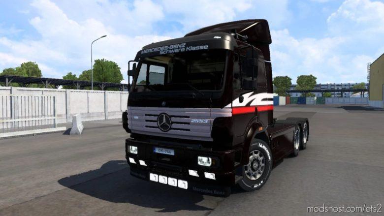 Mercedes-Benz SK [1.40] for Euro Truck Simulator 2
