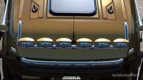 Kelsa Lightbars For MB Actros MP3 & MP4 V1.2 Fixed [1.40] for Euro Truck Simulator 2