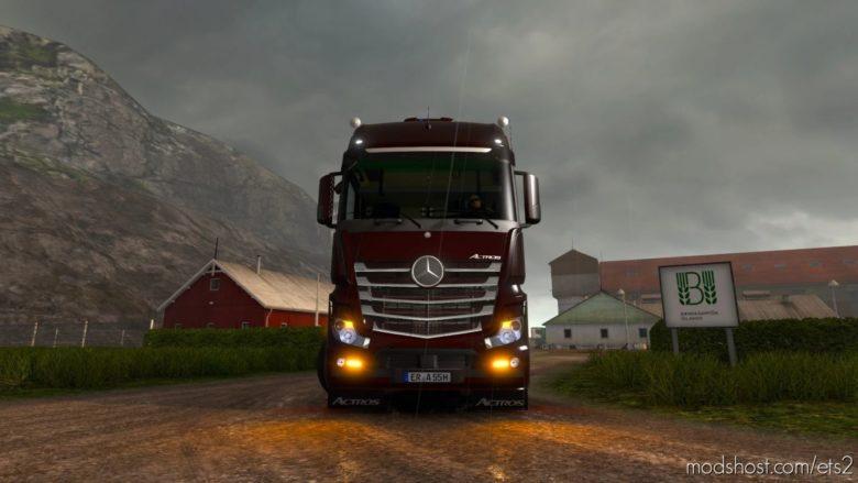 Mercedes-Benz MP4 V4.0 [1.40] for Euro Truck Simulator 2