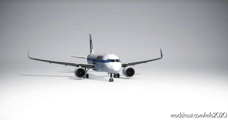 [A32NX] PAN AM Livery [8K] for Microsoft Flight Simulator 2020