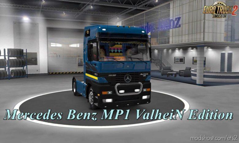 Mercedes Actros MP1 V1.5 [1.40] for Euro Truck Simulator 2