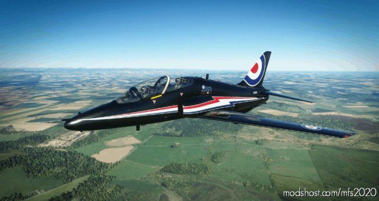 Indiafoxtecho Boeing T-45C Goshawk RAF Hawk T1A XX325 90 Years V1.1 for Microsoft Flight Simulator 2020