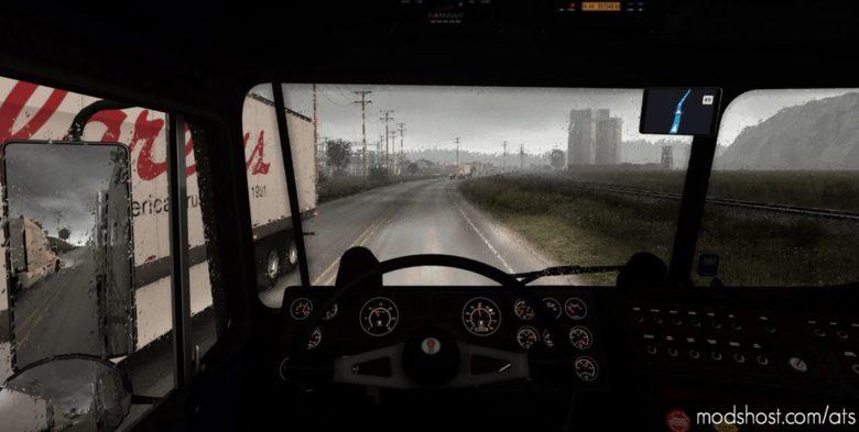 Realistic Rain V3.9 [1.40] for American Truck Simulator