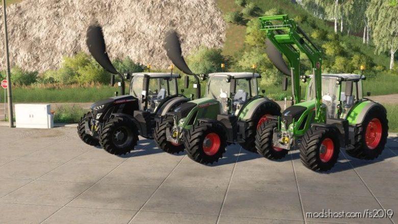 Fendt 700 Vario S5 for Farming Simulator 19