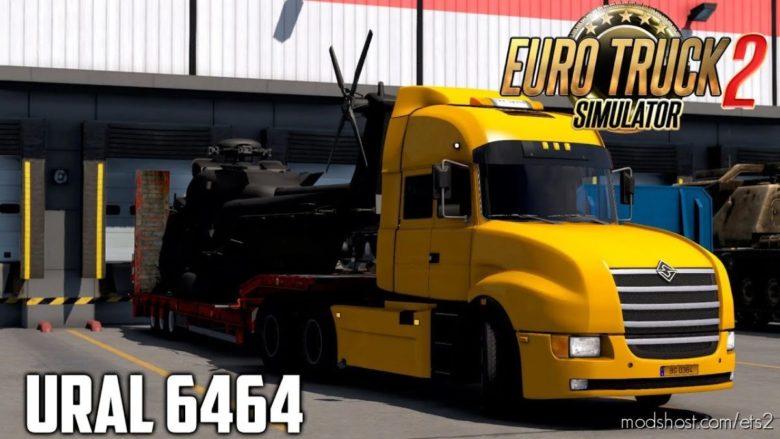 Ural 6464 + Interior V1.4 [1.40.X] for Euro Truck Simulator 2