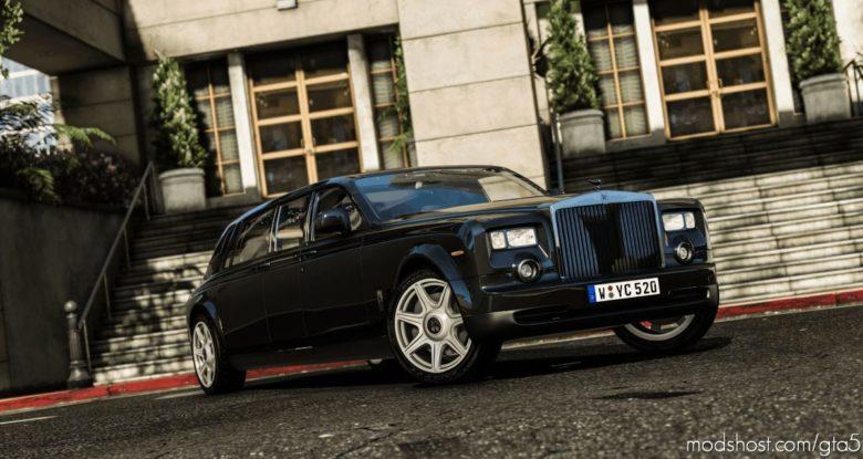 Rolls-Royce Phantom Mutec 2012 for Grand Theft Auto V