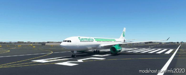 PMP Airbus A330-300 – Germania for Microsoft Flight Simulator 2020
