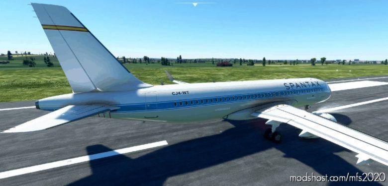 [A32NX] Airbus A320Neo – Spantax (Retro) for Microsoft Flight Simulator 2020