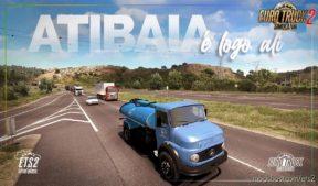 Mapa Rotas Brasil [1.40.X] for Euro Truck Simulator 2