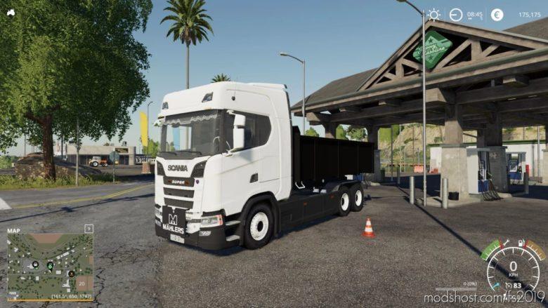 Scania Tipper for Farming Simulator 19