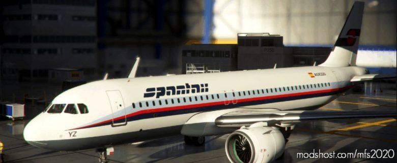 [A32NX] Airbus A320Neo – Spantax for Microsoft Flight Simulator 2020