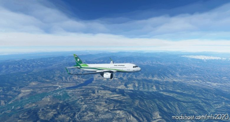 [A32NX] Iraqi Airways Livery for Microsoft Flight Simulator 2020