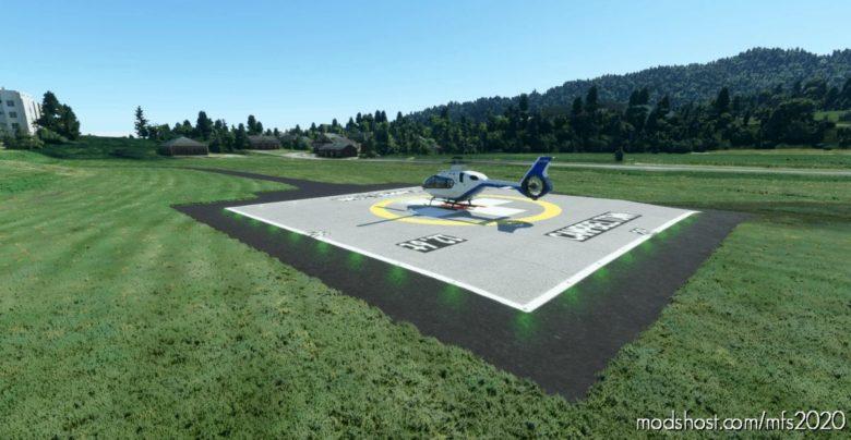 Robert Black Helipad Campbeltown V0.6 for Microsoft Flight Simulator 2020