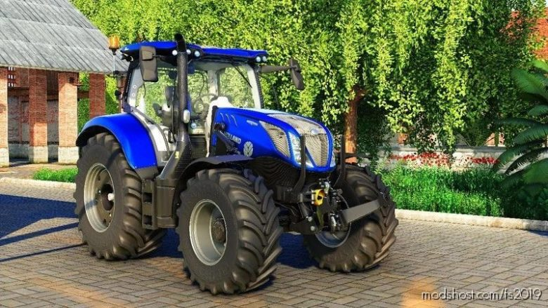 NEW Holland T6 Series Edit for Farming Simulator 19