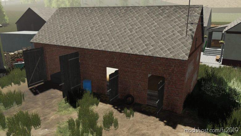 Farm Building With Granary for Farming Simulator 19
