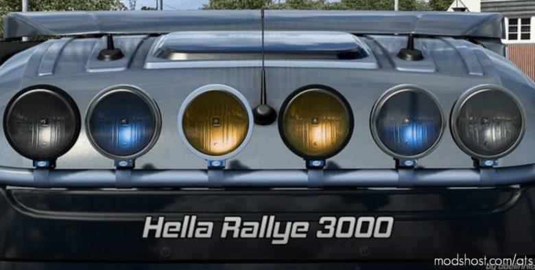 Hella Rallye 3000 V1.5 [1.40] for American Truck Simulator
