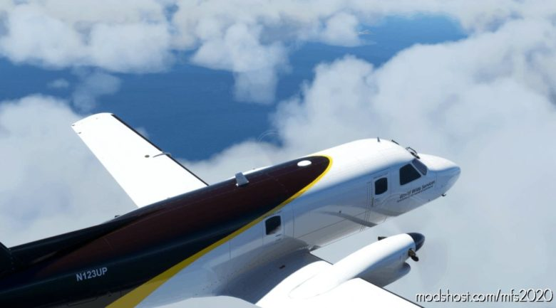 Emb-110P1F UPS N123UP for Microsoft Flight Simulator 2020