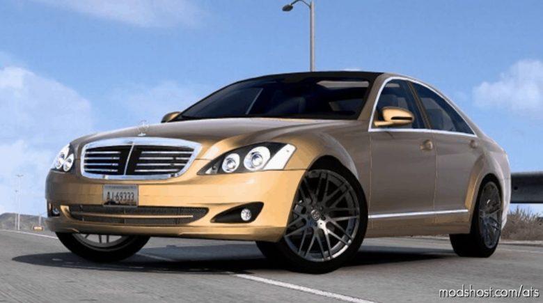 Mercedes-Benz S350 W221 2009 V6 [1.40] for American Truck Simulator