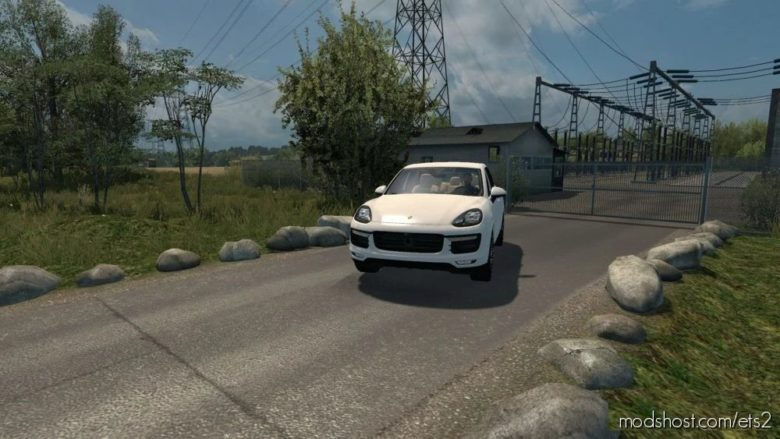 Porsche Cayenne Turbo S 2016 V5.1 [1.40] for Euro Truck Simulator 2