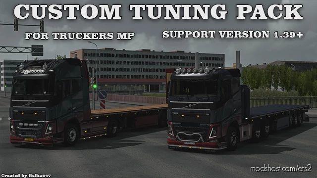 Custom Tuning Pack (Truckersmp) for Euro Truck Simulator 2